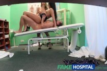 Fakeospital doctor is up for a sexy threesome