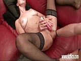 Amateur milf fist fucked in her greedy snatch