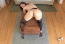 Casey Calvert in a stocking hot anal action