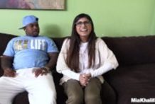 Mia Khalifa first black cock