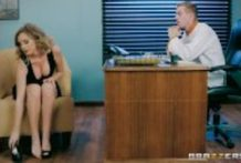 Brazzers – Alexis Adams sucks her bosses dick