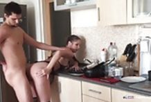 Big Tit Amateur Girl Ass Fucked In The Kitchen