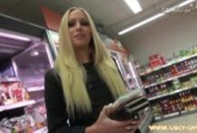 Lucy Cat Fucking In Supermarket – Sex Im Supermarkt – Public