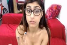 MIA KHALIFA – Explains Her Tattoos and Plays With Herself on Webcam
