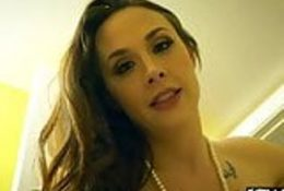 Hot Chanel Preston punished by a monster cock
