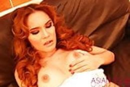 Masturbating redhead trans beautiful